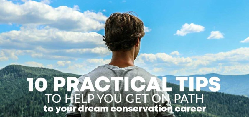 10 tips to help you seek career in conservation in Canada